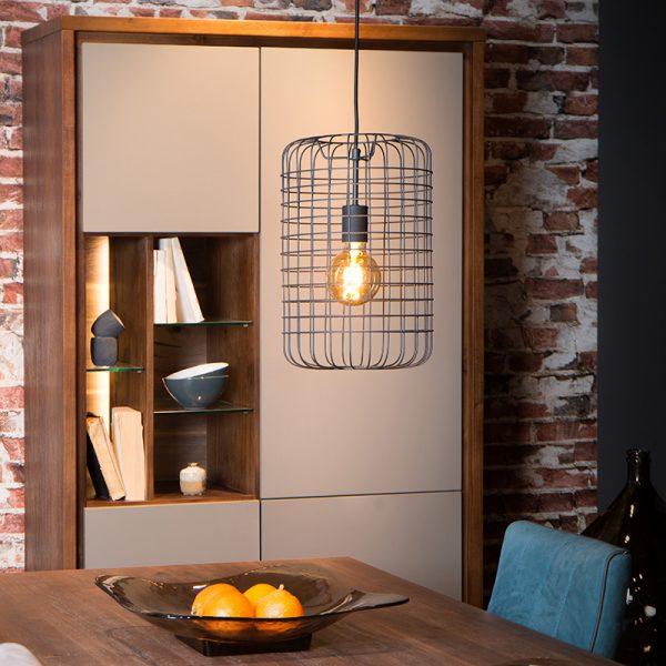 Esmee Hanglamp Zwart 26 cm - Lucide