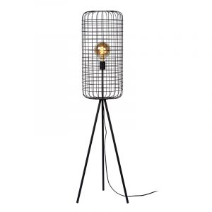 Cage Vloerlamp 31 cm Zwart