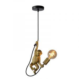 Hanglamp Aap - Goud met zwart (Monkey)