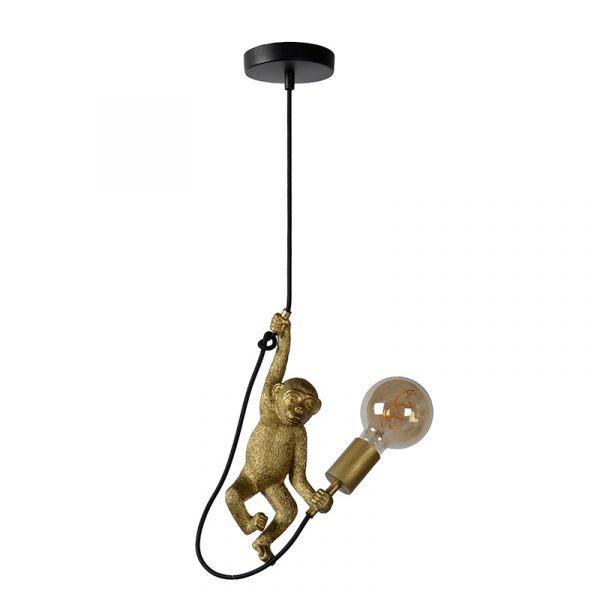 Monkey Hanglamp Zwart Goud