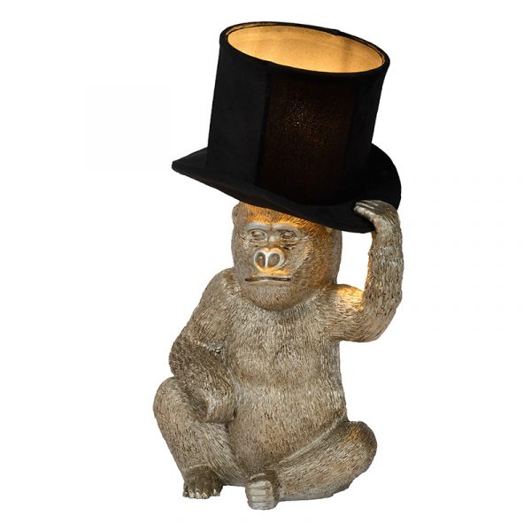 Monkey Hat Tafellamp Zwart Goud