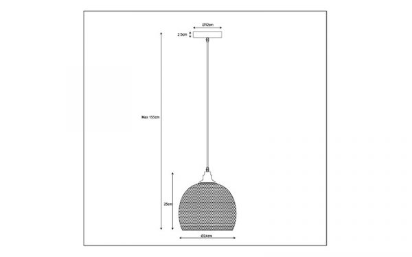 Cage Hanglamp 22 cm