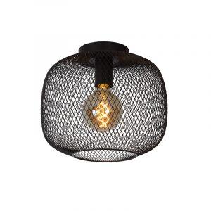 Cage Plafondlamp 30 cm Zwart