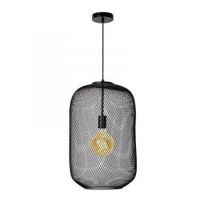 Cage Hanglamp 35 cm Zwart