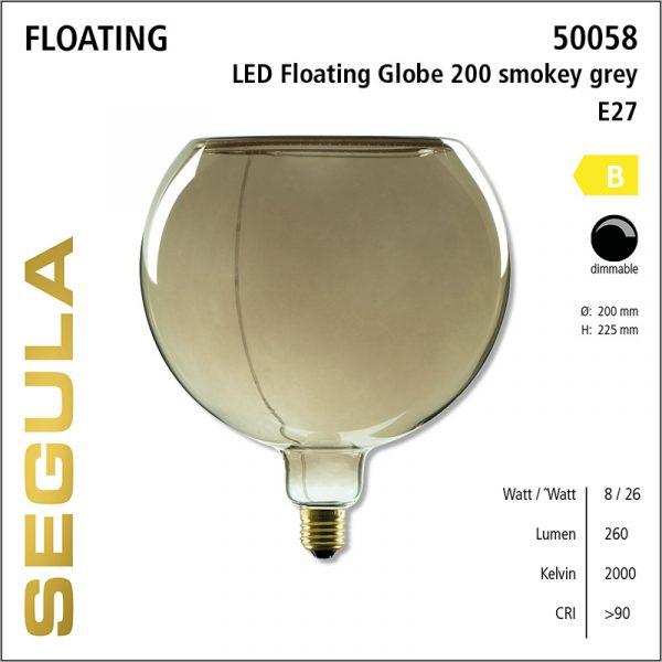 Floating 200 mm Rookglas