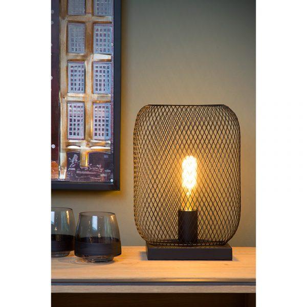Cage Tafellamp Zwart