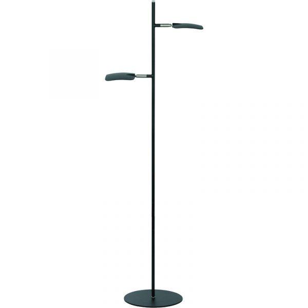 Wings Vloerlamp _ Moderne zwarte leeslamp