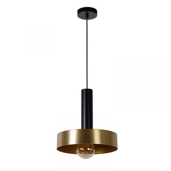 Rosali Hanglamp 30 cm Zwart Goud