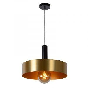 Hanglamp Rosali met Goud en Zwart 40 cm