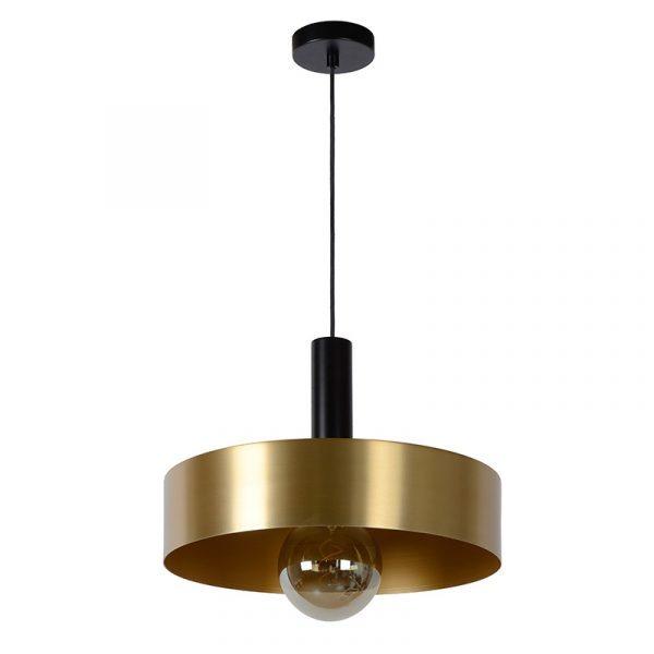 Hanglamp Met Gouden Kap