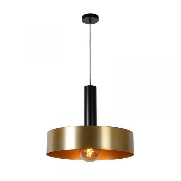 Hanglamp Goud met Zwart