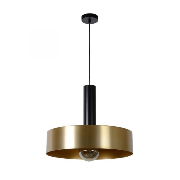 Zwart Goud Hanglamp - Rosali
