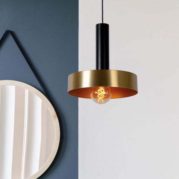 Hanglamp Retro Goud