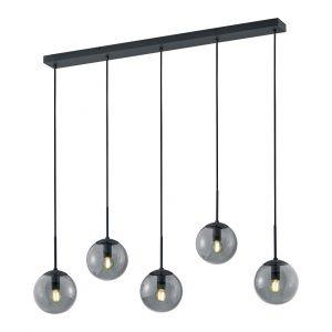 Hanglamp Henk - Rookglas kappen