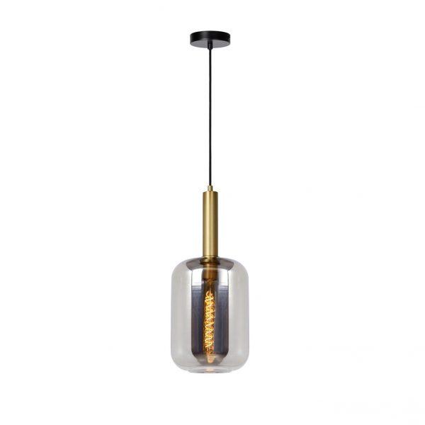 Joanet 1-lichts hanglamp mat goud messing
