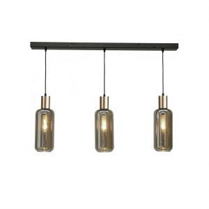 Nicole/Bounty hanglamp rookglas kokers
