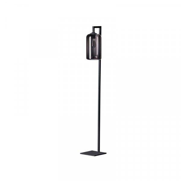 Kruis_vloerlamp_smoke_glas_lampencompleet