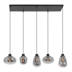 Reflexion_hanglamp_5-lichts_lampencompleet