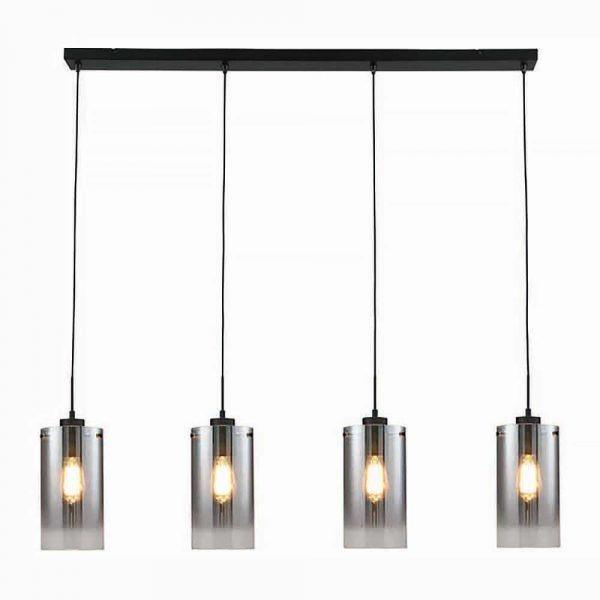 Guus_hanglamp_4-lichts_zwart_lampencompleet_
