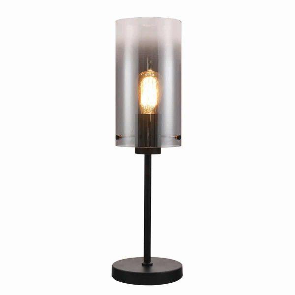 Guus_tafellamp_rookglas_lampencompleet